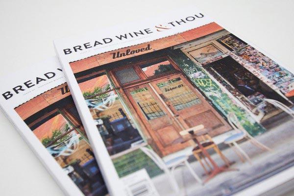 Bread Wine Thou Catalogue Design