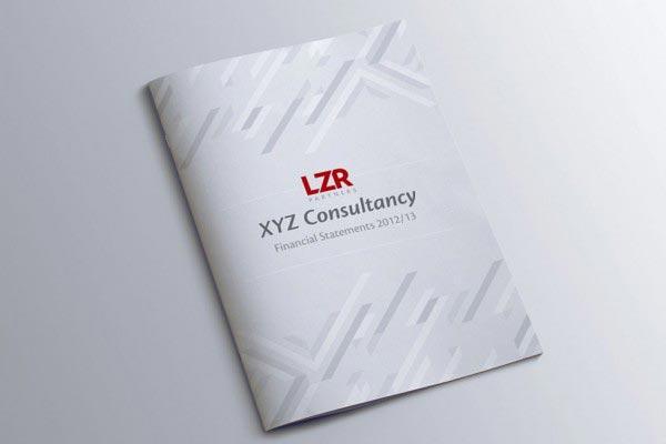 LZR Brochure Design