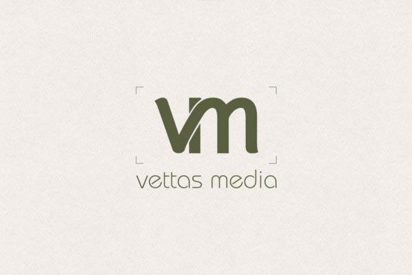 Vettas Media Logo Design