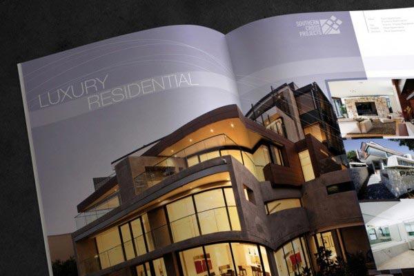 Southern Cross Constructions Brochure Design 2