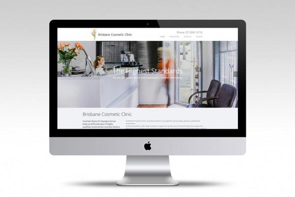 Brisbane Cosmetic Clinic - Web Design