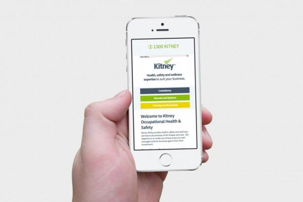 Kitney iPhone - Responsive Web Design